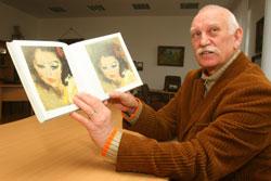 Свою книгу о художнике академик Александр Федорук проиллюстрировал портретами жены мастера, испанки по происхождению.