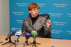 Главный архитектор Днепропетровска Юлия Саенко.