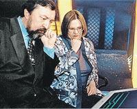 Юрий и Ирина Чудиновские.