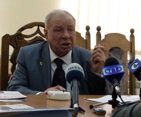 Генеральный конструктор КБ «Прогресс» Федор Муравченко.