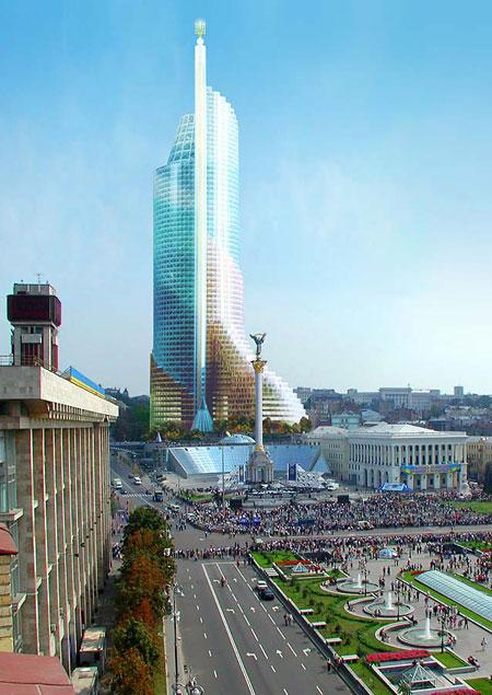 Многие архитекторы уверены: если этот монстр появится, Майдан уже ничто не спасет...
