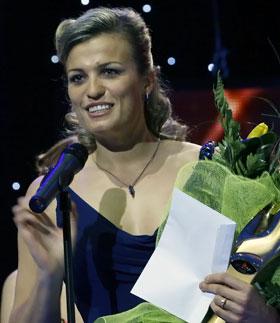 Олимпийская чемпионка Наталия Добрынская признана «Спортсменом года».