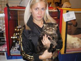 Хозяйка Балу Ольга Сиренко обожает любимицу