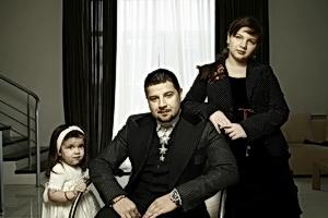 Дима Климашенко с дочерьми Наной и Лидой – начитанная семья.