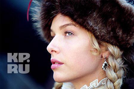 Польскую красавицу, в которую влюбился сын Бульбы, сыграла полячка Магда Мельцаж. Фото ИТАР - ТАСС.
