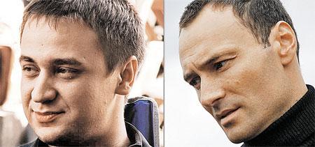 Дмитрий в 90-х годах (слева) и в наши дни. Молодого Кирилла Жандарова заменил брутальный Дмитрий Ульянов.