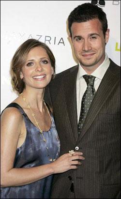 Сара Мишель и ее муж Фредди. Фото: thesun.co.uk