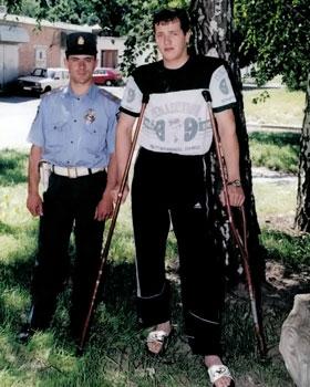 Владимир Нагорнюк (справа) долго приходил в себя после геройского поступка.