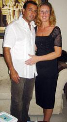 Ихаб Эль-Лаббана и Марни Пирс, влюбленные и счастливые... Фото: dailymail.co.uk