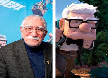 Армен Борисович и его персонаж даже внешне чем-то похожи! Фото: waytoblue.com и Disney/Pixar