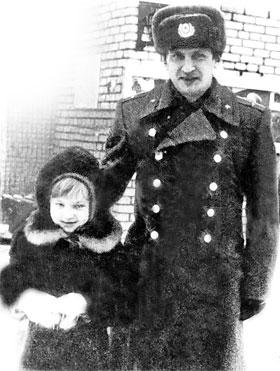 Евгений Борисович Пугачев с племянницей Кристиной.