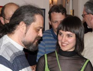 Авторы выставки – Всеволод и Алина.