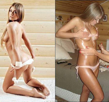 Красавица Оксана не только певица, но и модель. Фото: nudecelebs.ru