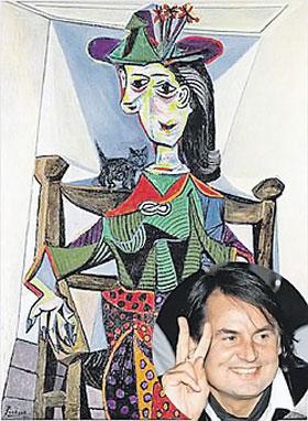 Вот за эту картину Пикассо русский олигарх выложил $95 млн.