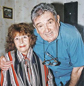 Только смерть смогла разлучить Евгения Яковлевича и Нонну Гавриловну...