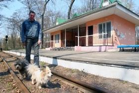 На детской железной дороге скоро открытие сезона.