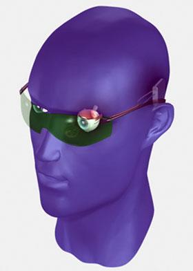 Бионический глаз - это целый комплект