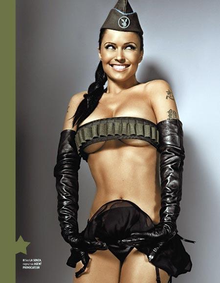 Можно не сомневаться, после фотосессии в Playboy рейтинги «Армейского магазина» резко пойдут вверх. Фото: предоставлено журналом Playboy