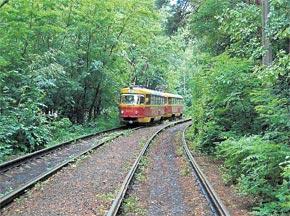 Так выглядит трамвай №12 сейчас.