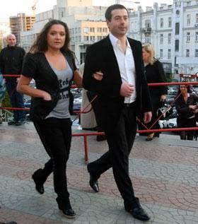 Наташа со своим парнем-бизнесменом Егором так и не прорвалась к Алле.