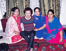Афганские красавицы.