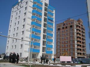 Дома на улице Дыбенко: в начале 2010 года фирма «Консоль» завершит застройку всего микрорайона