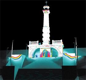 Памятник Магдебургскому праву скоро можно будет увидеть с Труханова острова.