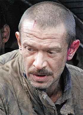 Владимир сильно похудел на съемках...