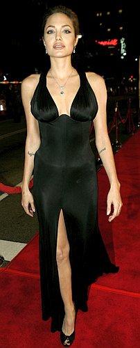 В Анджелине Джоли все прекрасно: и глаза, и губы, и грудь, и душа... Фото: АП