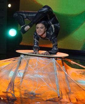 Кристину Писклюкову на конкурсе ласково прозвали «паучком».