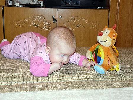 Соломийка Павлова, 10 месяцев