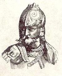 Перед смертью волынский князь Владимир Василькович раздал все свое имущество бедным.