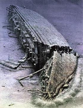 «Британик» затонул в 1916 году. А его останки нашли лишь недавно.