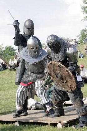 Рыцари – как настоящие!