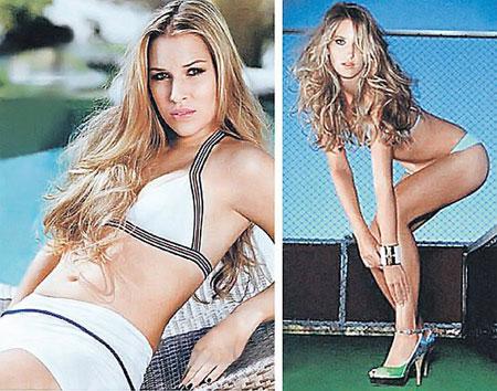 Раскрепощенная фотосессией Доминика Цибулкова (слева) легко обыграла Машу Шарапову. А вот Виктория Азаренко справиться с Динарой Сафиной не сумела.