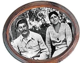 Иосиф Сталин и его Татька.