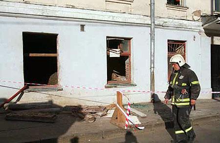 Площадь обрушения составила примерно 100 квадратных метров. Фото: Андрей КАРА.