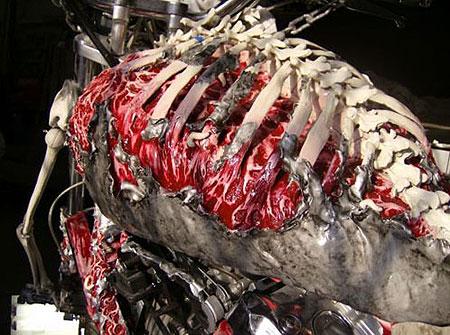Бак напоминает кусок мяса. Фу. Фото Blue Flame Alley.