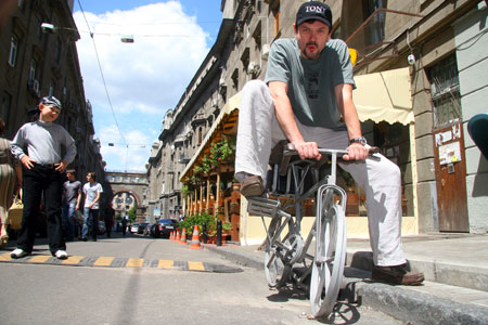 - Люблю кататься на велосипеде!