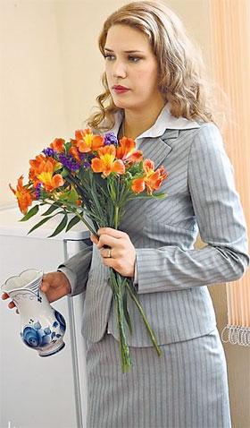 Актриса Анна Арланова отказалась носить в кадре брюки.