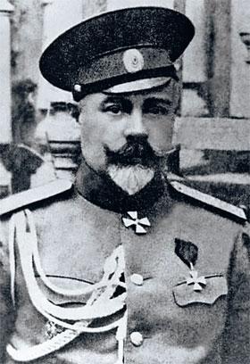 Генерал Деникин – главнокомандующий Добровольческой армией в Гражданскую...
