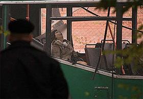 Бомба была прикреплена ко дну машины или находилась в салоне.