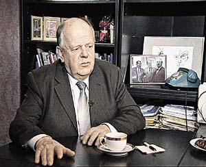 Станислав Шушкевич - экс-президент Белоруссии.