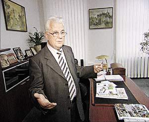 Леонид Кравчук - первый президент Украины.