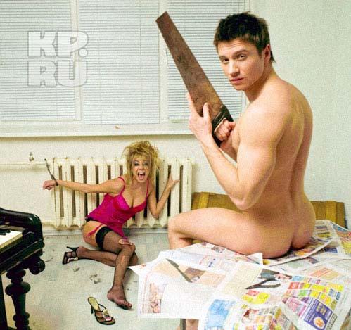 Певец Сергей Лазарев недавно впервые снялся обнаженным для выстаки