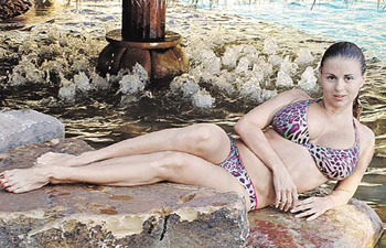 В прошлом году Семенович уже отдыхала в Таиланде. Ане понравилось, и она решила туда вернуться.