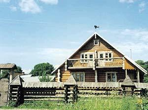 Охотничий домик на Валдае. Фото с сайта piligrim-21083.nm.ru