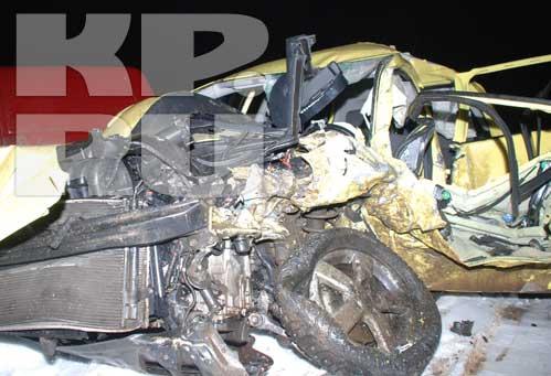 Автомобиль, в котором разбился Геннадий Бачинский