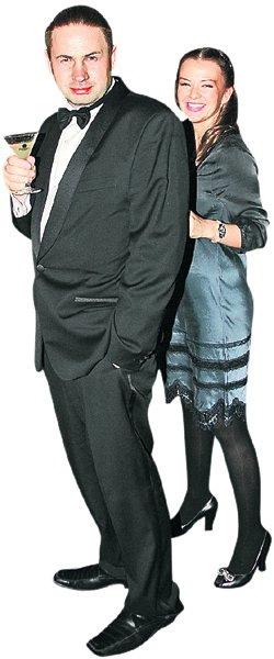 Геннадий с женой Юлей.
