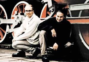 Геннадий (слева) и Сергей были друзьями и коллегами.